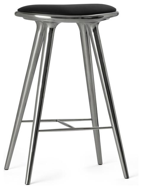 Recycled Aluminum Stool Bar Height