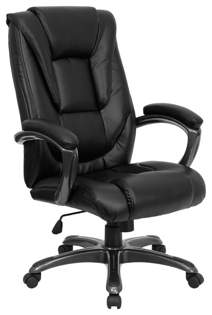 MFO High Back Leather Executive Office Chair