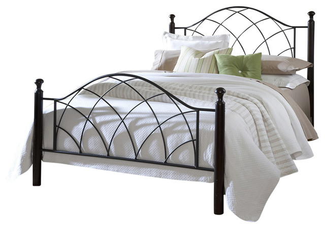 Vista Bed Set Queen Rails Not Included Transitional
