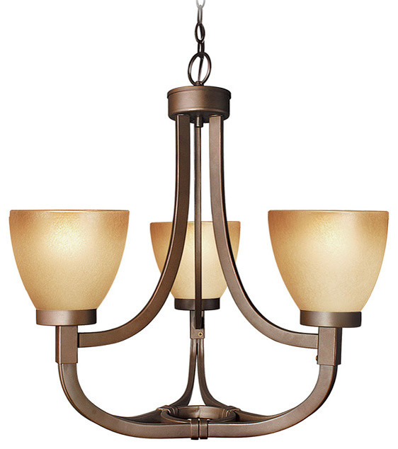 Wayman 3 Light Chandelier Transitional Chandeliers