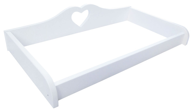Heart Changing Table Tray Contemporary Changing Tables