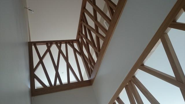 escalier et garde corps moderne dijon par atelier bride bois. Black Bedroom Furniture Sets. Home Design Ideas