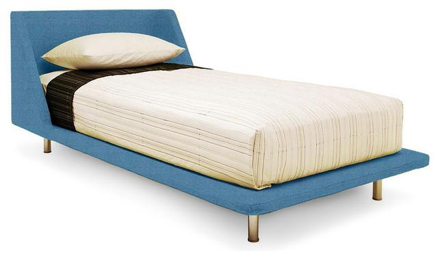 blu dot nook twin bed aqua - Xl Twin Bed