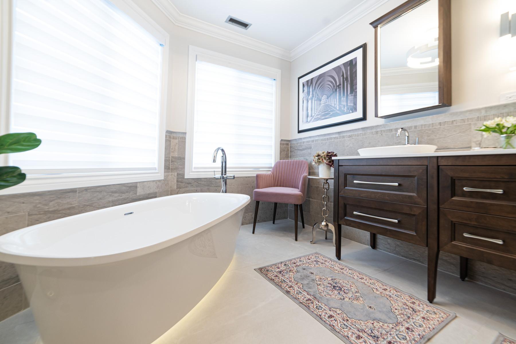 Brossard Master Bath - Full Renovation