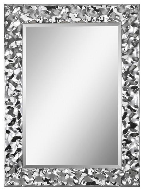 Ren-Wil Couture Wall Decorative Mirror Framed Vertical Medium.