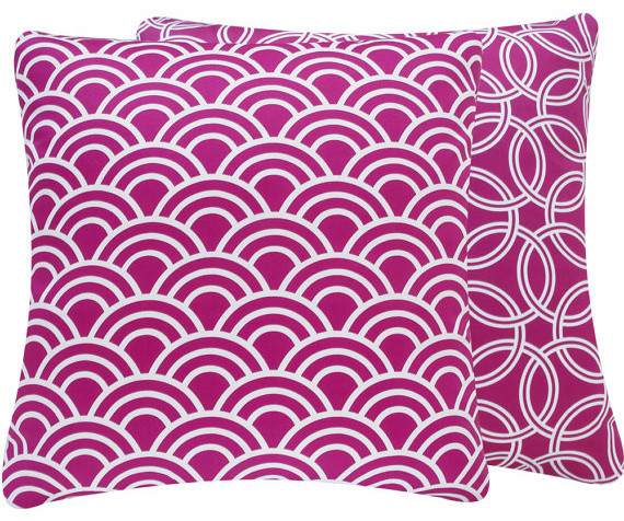 Diamante Sparkle Purple Art Silk Throw Pillows Cover