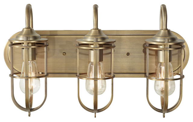 Bathroom Vanity Lights Nz murray feiss vs36003 urban renewal 3 light bathroom vanity light