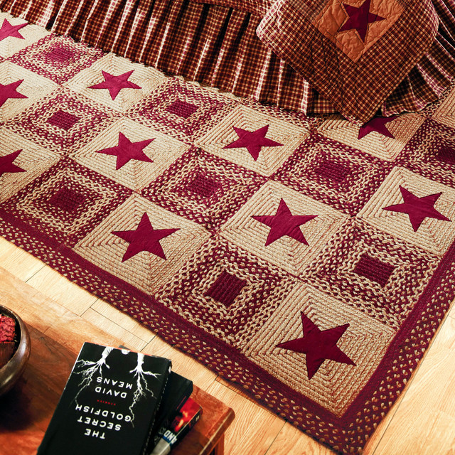 Country Star Jute Braided Rugs By Ihf