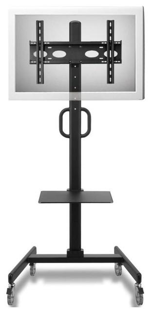 "Cotytech - Adjustable Ergonomic Mobile TV Cart For 32""-52"" & Reviews   Houzz"