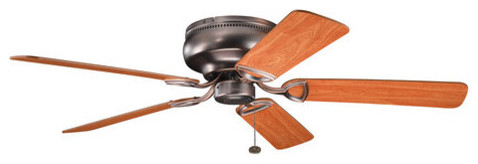 Stratmoor Indoor Ceiling Fans, Oil Brushed Bronze.