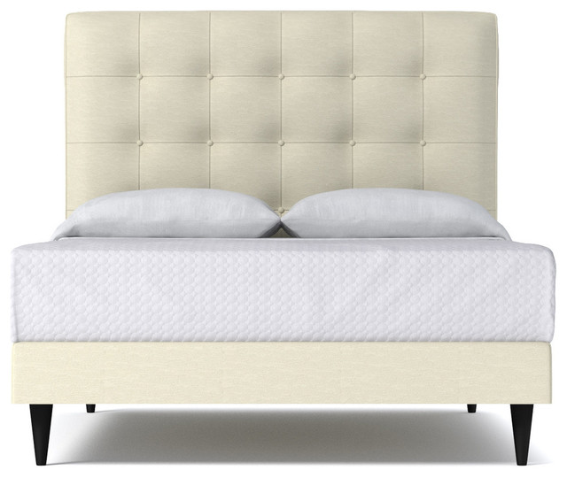 Palmer Drive Upholstered Bed From Kyle Schuneman Chromium Transitional