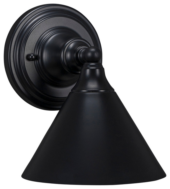 Wall Sconces With Black Shades : Shop Houzz Toltec Lighting Wall Sconce - Wall Sconces