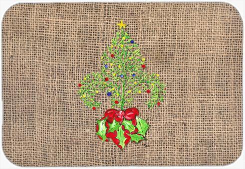 Christmas Tree Fleur De Lis Kitchen Bath Mat 20 X30
