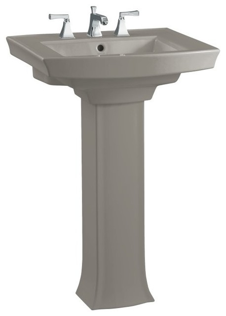 kohler archer bathroom sink kohler k 2359 8 k4 archer pedestal lavatory with 8 19011