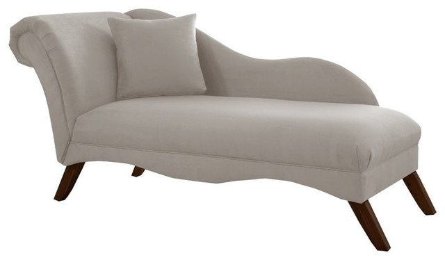Skyline furniture chaise tidepool indoor chaise lounge for Abbyson living soho cream fabric chaise