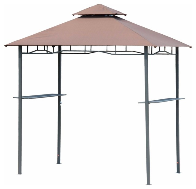 Outdoor 8&x27; Double-Tier Bbq Grill Canopy Tent.