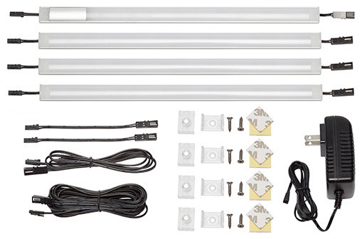 """4 Panel 12""""Warm White Touch On/Off Dimmer Switch Lighting"""
