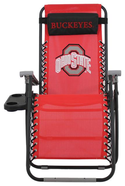 Ohio State Buckeyes Zero Gravity Chair Contemporary