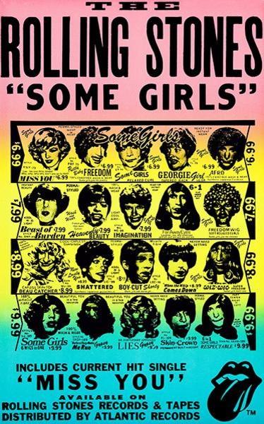 Album Print Gift The Rolling Stones Poster Sticky Fingers Framed Original Art