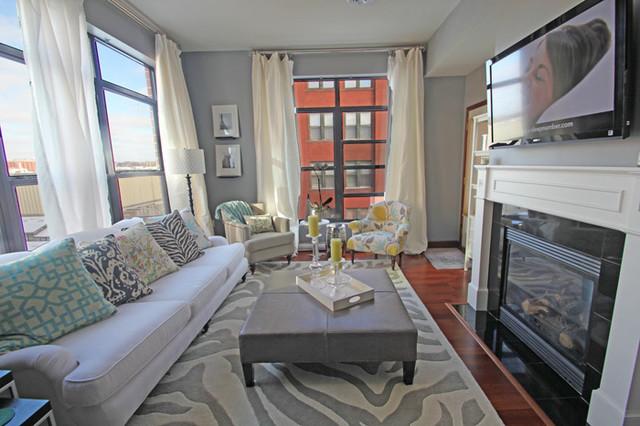 Surya Mosaic Rug Mos 1001 Contemporary Living Room