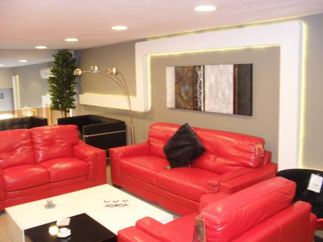 Ba13 and led light moderne salon autres p rim tres for Decoration ba13 salon