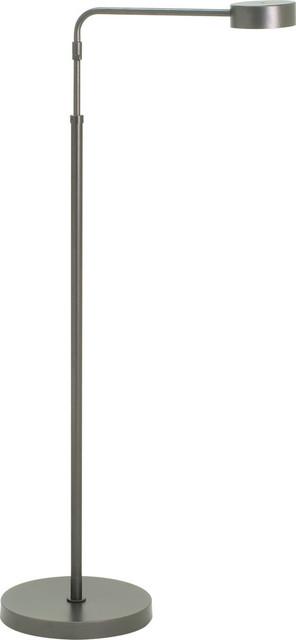 Generation Adjustable Led Floor Lamp, Granite.