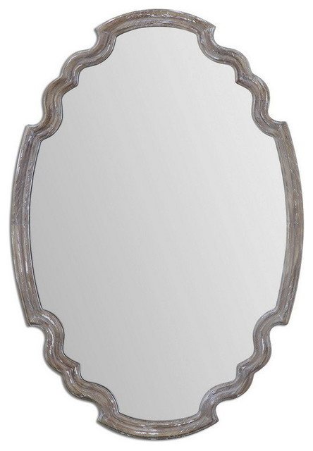 Uttermost Ludovica Aged Wood Mirror.