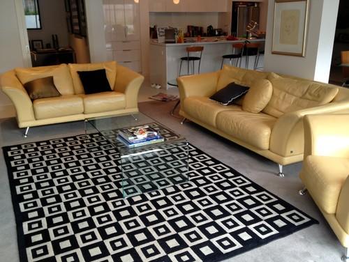 Need Help Choosing Cushions For My Yellow Sofas