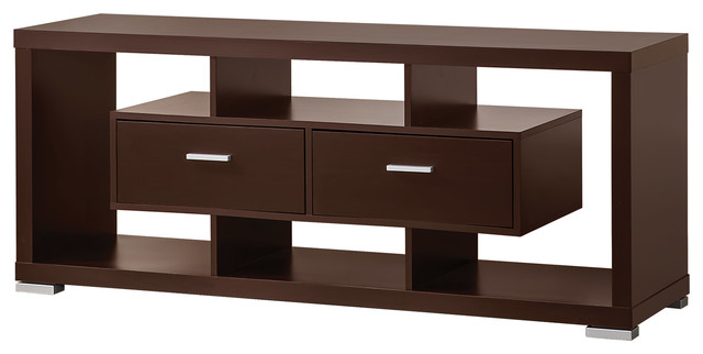 Wall Units TV Stand Modern Wood TV Console Table - Entertainment Centers And Tv Stands - by ...