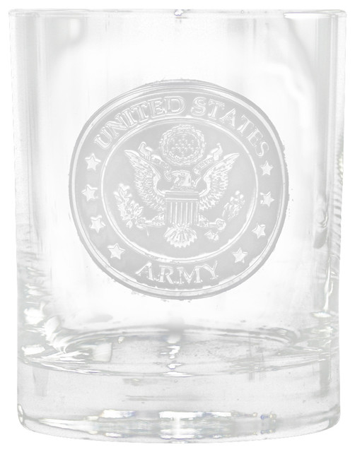 army whiskey scotch bourbon rocks glasses for military glasses