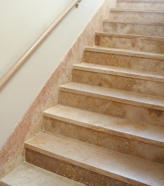 Authentic Durango Dorado™ Stair Treads And Risers. Traditional Staircase