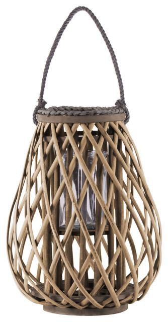 UTC55048 Bamboo Lantern Natural Finish Brown