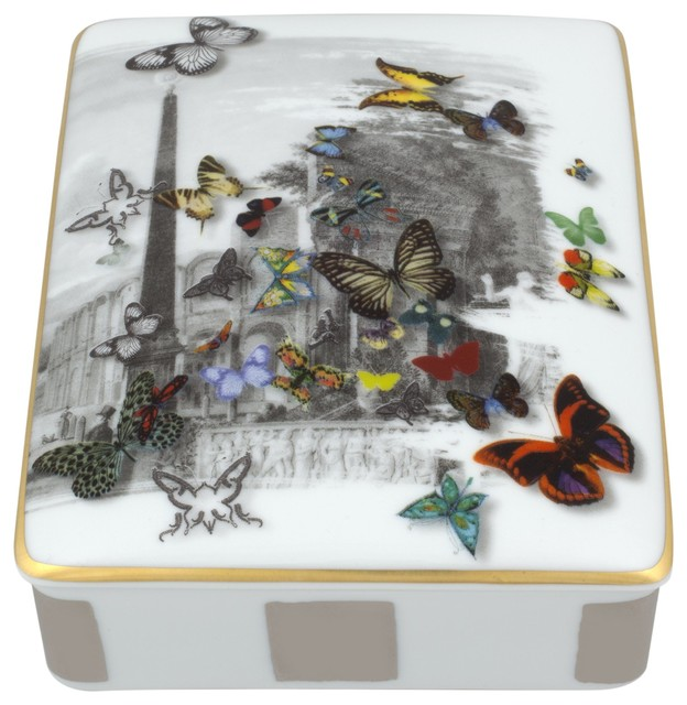 Christian lacroix forum card box torre gift box desk accessories by vis - Christian lacroix accessories ...