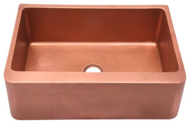Barroca 33 Copper Farmer Sink