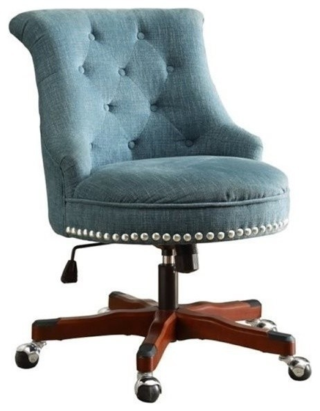 Bowery Hill Bowery Hill Armless Upholstered Office Chair