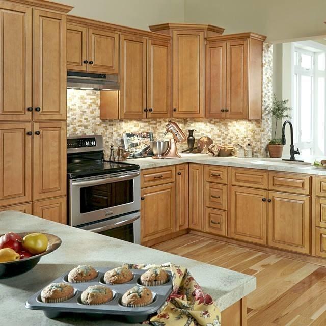 Bon B. Jorgsen U0026 Co Westminster Glazed Toffee Kitchen Cabinets Traditional