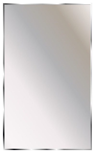 Ketcham Cabinets Theft Resistant Channel Framed Mirror 18x24.