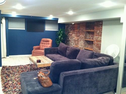 need help decorating open garden level apartment