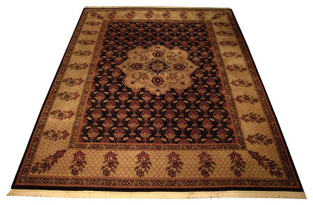 Agra Tabriz Rug - Traditional - Area Rugs - by Abrahamu0026#39;s Rugs