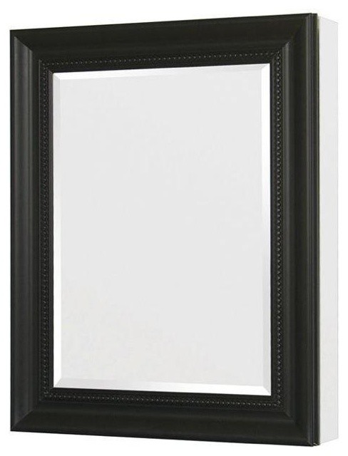 24in. x 30in. Recessed or Surface Mount Mirrored Medicine Cabinet ...