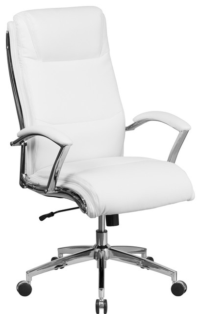 White High Back Executive Chair.