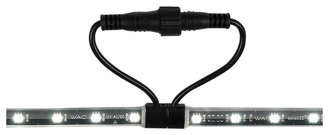 LED InvisiLED 12V Outdoor Tape Light, Black - Undercabinet Lighting - by WAC Lighting