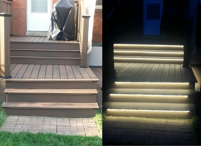 Inspired Led Outdoor Lighting Stair Lighting Phoenix