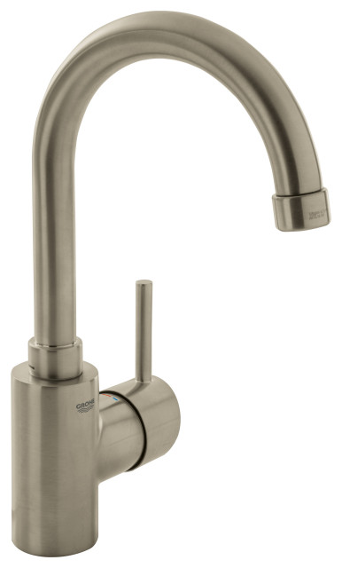 Grohe Concetto Large Bathroom Faucet With Swivel Spout, Brushed Nickel