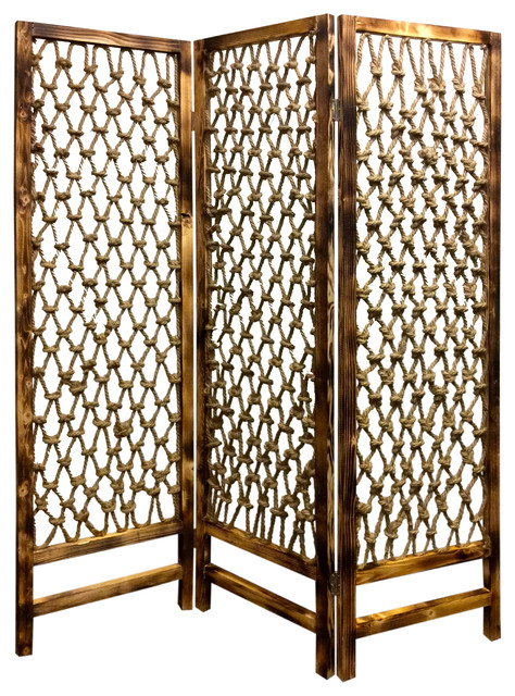 Screen Gems Rope Room Divider Sg 234