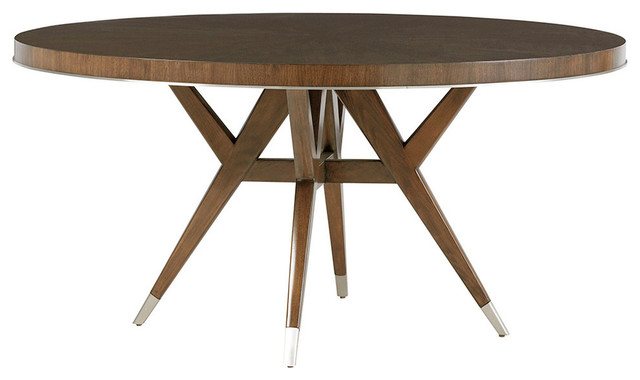 Strathmore Round Dining Table Midcentury Dining Tables By Homesquare