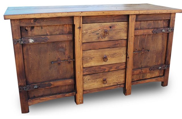 Old World Vanity With Old Hinges, 48x20x32.