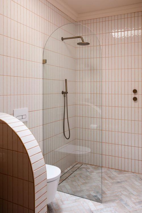 Walk in shower by TileCloud