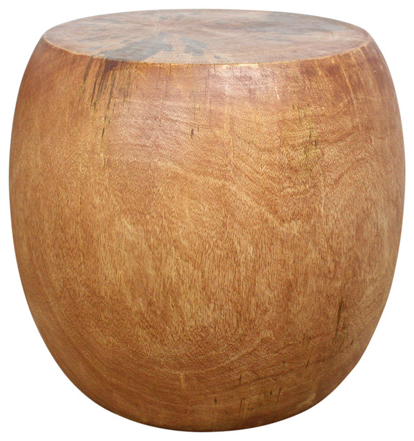 Pouf Table Rustic Side Tables And End Tables