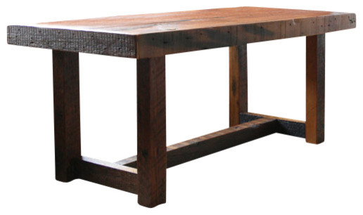 The Rustic Pi Coffee Table Made From New Orleans Barge Board And Reclaimed Wood Tables By Doorman Designs
